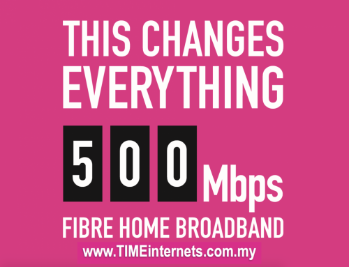 500Mbps High Speed internet in Malaysia