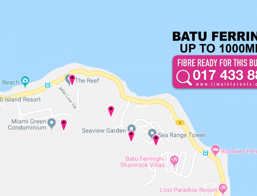 Condo Batu Ferringhi | TIME Broadband Coverage