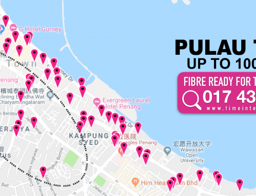 TIME Condo and Apartment Pulau Tikus | Penang | Speed TIME Internet