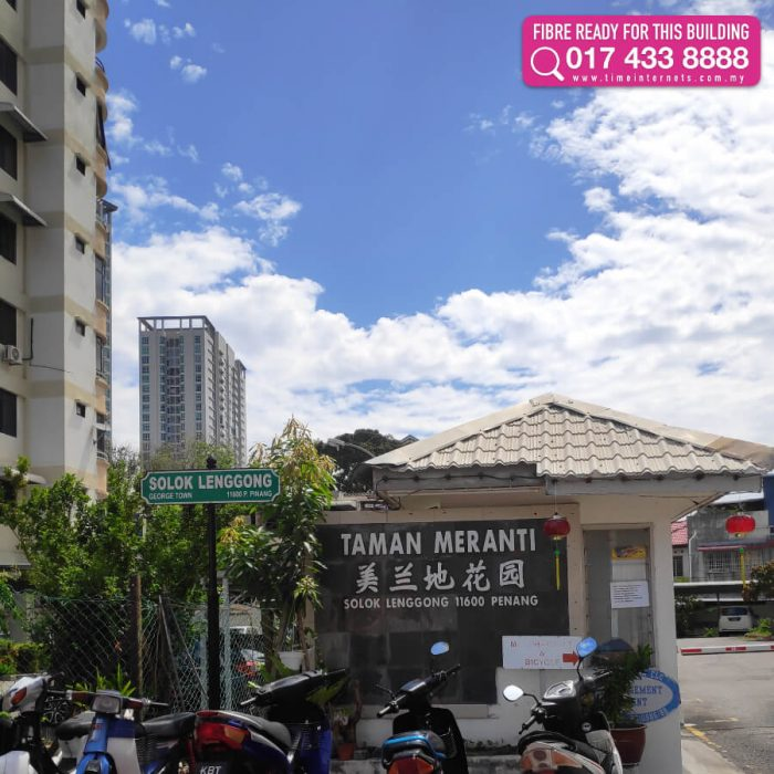 Jelutong TIME Fibre Buildings | Penang | Fast and Unlimited TIME