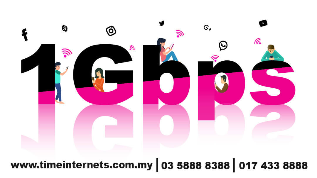 time internet penang contact