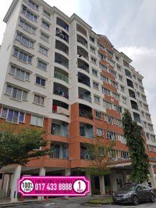 Kenanga Apartment jalur lebar msap,