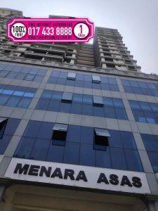 Menara Asas fibre broadband