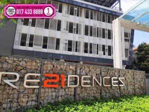 Residences 21 fibre broadband